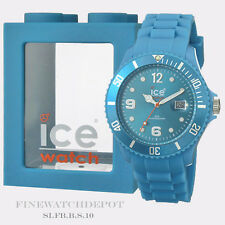 Authentic Ice Sili Fluorescent Blue Watch SI.FB. B.S.10