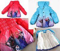 Giacca Bambina Piumino Inverno - Girl Winter Jacket 3-7 years - Frozen - A00190