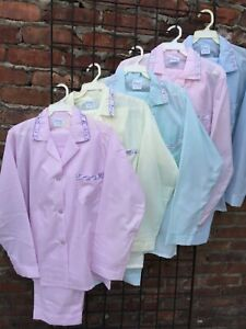 New Button Down  L/S-L/L  Pajama Sets  XL,1X  2X  3X (Made in USA) Free Shipping