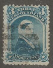 Newfoundland 1873 #34 Queen Victoria Fine Used