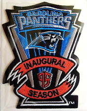 CAROLINA PANTHERS Willabee Ward INAUGURAL SEASON NFL PATCH Worn 1995 PATCH ONLY