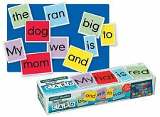 NEW Pocket Chart Sight Word Cards 118 Double Sided Word Spelling Pronunciation