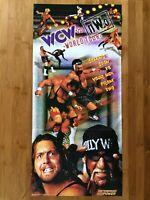 Official WCW vs. nWo WORLD TOUR N64 1997 Nintendo Power Poster Wrestling RARE!