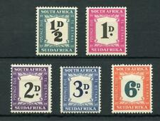 South Africa 1948-49 Postage Due set SGD34/8 MM