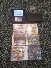 New Nintendo 3ds xl (blue) console and boxed  games