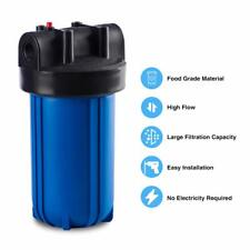 4.5x10-inch Big Blue Water Filter Clear Housing Whole House Water Filtration Kit