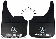 MUDFLAPS FOR MERCEDES BENZ MODELS UNIVERSAL FIT MUD FLAP A B C CL CLK E SL CLASS