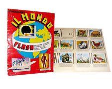 Conosciamo IL MONDO  album figurine lampo flash 1981 ,  da recupero