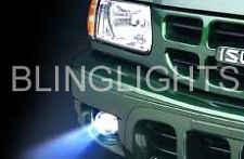 Xenon Halogen Fog Lamps light foglamps Kit For 2000-2004 Isuzu Rodeo