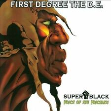 Super Black: Voice of the Voiceless by First Degree the D.E. (CD, Apr-2012, Fahr
