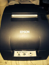 Refurbished Epson TM-U220B-653  Serial Printer Gray C31C514653 M188B Power Sup