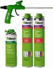 Set illbruck XS 2x PU-Schaum+ FM210 880 ml, 1x Reiniger AA290 500 ml, 1x Pistole