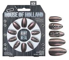 House Of Holland False Nails - Heavy Metal (24 Nails)