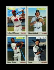 2019 TOPPS HERITAGE HIGH NUMBER SP SHORT PRINT COMPLETE 25 CARD SET