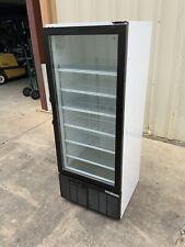 11/2018 Habco commercial 1 door glass refrigerator cooler Se-12 drinks beverage