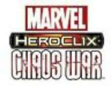 """Marvel HeroClix """"Chaos War"""" 1-40 you pick what you want"""