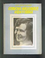 Cecilia Arnaldi Concha Melendez Vida Y Obra Puerto Rico 1972 1st Edition