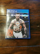 UFC 3 (Sony PlayStation 4, 2018) PS4