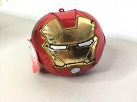 Marvel Iron Man Hallmark Fluffballs Plush Decoration Ornament 4 Inch NEW