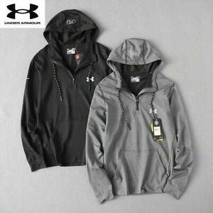 Under Armour NEW UA Mens Hoodie Pullover Sweatshirt Jumper Hoody Jacket Hooded💕