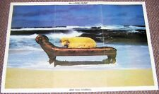 10 CC FRENCH RECORD COMPANY PROMO POSTER 'LOOK HEAR ARE YOU NORMAL?' ALBUM 1980