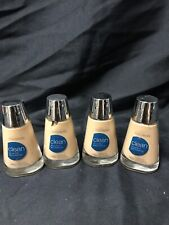 LOT OF 4 COVERGIRL CLEAN MATTE LIQUID FOUNDATION - #560 1oz. Bottles Kg Ws2