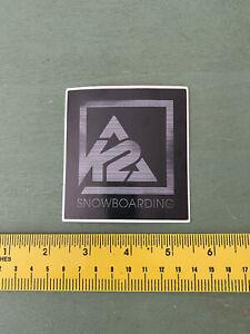 k2 snowboard Sticker