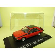 RENAULT FUEGO TURBO 1983 Rouge NOREV Collection M6 1:43