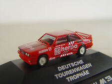 Bmw m3 carro viajes rojo-Herpa auto modelo 1:87 - #379 # e-Gebr.