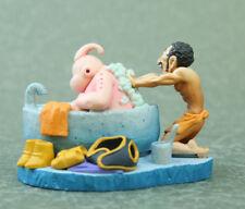 "Dragon Ball capsule Mr. Satan & Buu Bath Figure  Authentic 2"" MegaHouse JP M073"