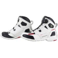 Komine Waterproof Protect Boa Riding Shoes Sport White 05-076 New Fast Shipping