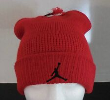NIKE Adult Unisex Jordan Cuffed Knit Beanie Hat Color Gyn Red black Size  OSFM 63e2e05b2862