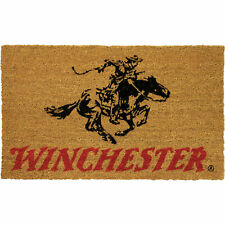 River's Edge Products Winchester Horse Rider Coir Welcome Mat 30 by 18in