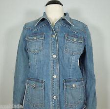 GAP Women's Denim Jacket Stonewash Blue size M