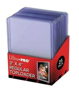 """Ultra Pro Top Loaders SleeveUltra Pro Series 3""""x4"""" (10 Toploaders)"""