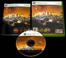 NEED FOR SPEED UNDERCOVER Xbox 360 Versione Italiana 1ª Edizione ••••• COMPLETO