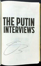 """The Putin Interviews"" Signed Copy - Oliver Stone Autographed Book Hardcover 1st"