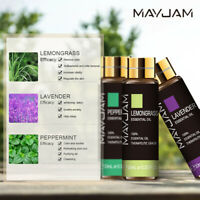 MAYJAM 10/30/100ml Aromatherapy 100% Natural Therapeutic Grade Essential oil