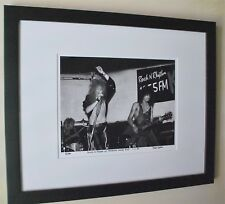 Guns N' Roses Axl Rose Slash fine art photo B.C Rich 1985 signed # 9/100 rare