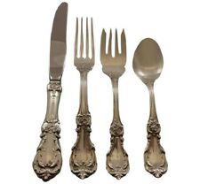 Burgundy by Reed and Barton Sterling Silver Flatware Set For 8 Service 36 Pieces