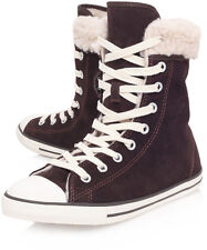 New Authentic Converse chuck Taylor sneaker tennis shoes  dainty suede shearling