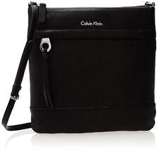 Calvin Klein Pebble Leather Messenger Bag Black H3DEA1FN Handbag Purse