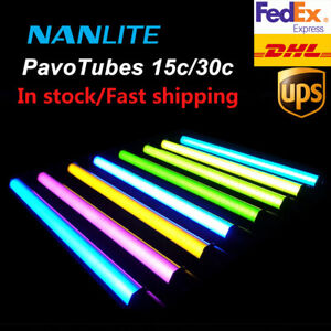 New Nanguang Nanlite Pavotube 15C/30C RGB LED Video Light Photography Lights KIt
