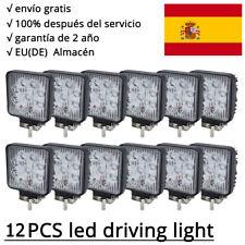 12 X 27W 9LED Faro de trabajo de la luz de camiòn Lámpara Bombilla Plaza 12V 24V