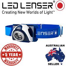 Genuine Led Lenser Blue SEO 7R Head lamp 5 Yr Warranty Authorised Aussie Seller