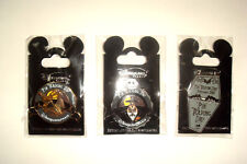 3 Disney DLP Trading Day Pins from the 2nd of October 2010 Disneyland Paris LE