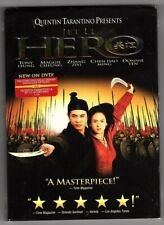 Hero, Jet Li Quentin Tarantino (Dvd, 2004) with slipcover * free shipping *