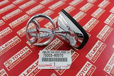 Toyota Land Cruiser J100 OEM Front Hood Bonnet Emblem Badge SILVER 1998-2007