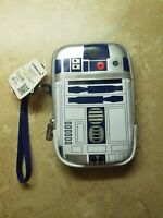 Disney Parks Star Wars R2-D2 Light-Up When Vibrates Tech Phone Case Wallet