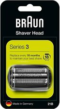 Braun 21B Series 2 Electric Shaver Replacement Foil and Cassette Cartridge